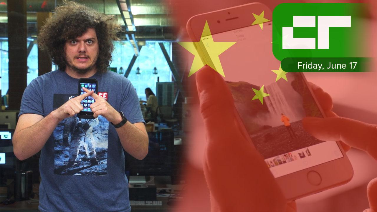 Crunch report apple ordered to stop selling iphone in china
