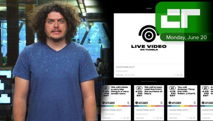 Tumblr Launches Live Video | Crunch Report