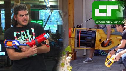 A Giant Nerf Gun | Crunch Report
