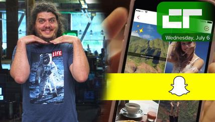Snapchat Memories Update | Crunch Report