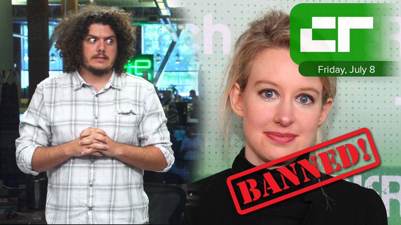 Theranos CEO Gets Banned | Crunch Report