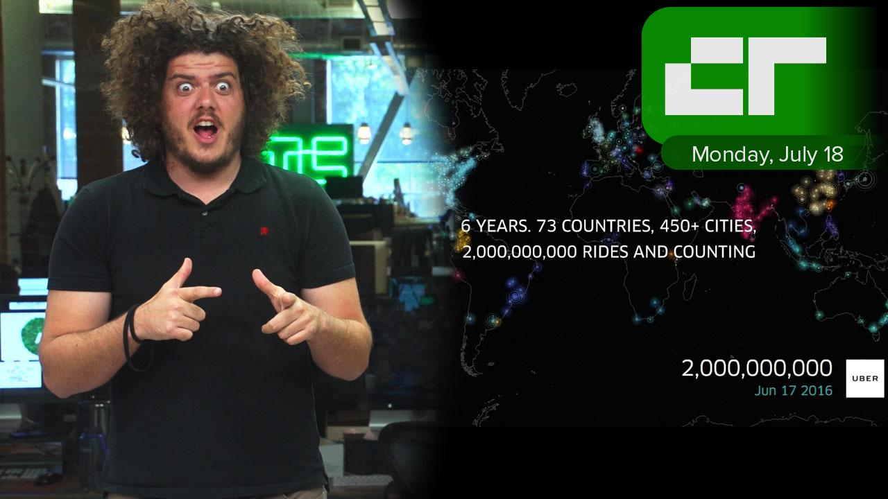 Uber Hits 2 Billion rides served | Crunch Report
