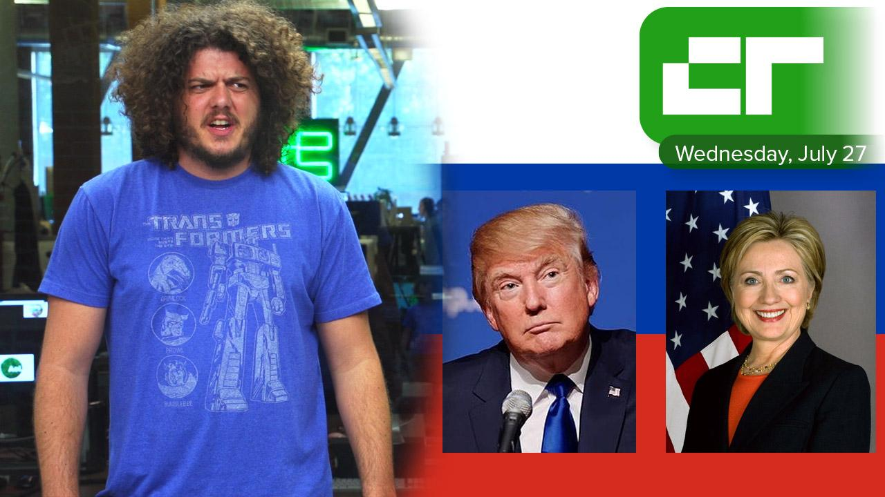 Trump Asks Russia to Hack Hillary   Crunch Report