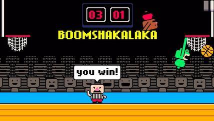Dunkers is 8-bit NBA Jam