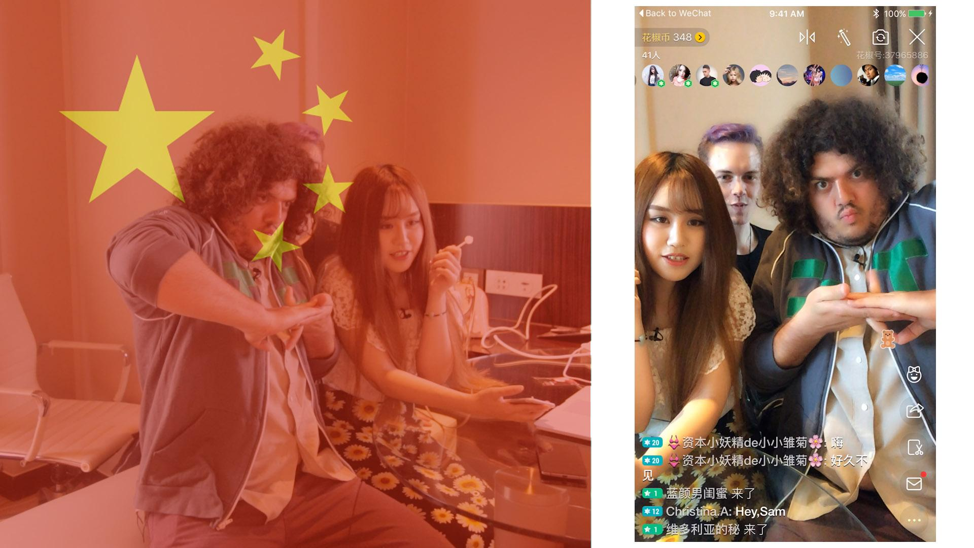 Live Streaming App Phenomenon in China