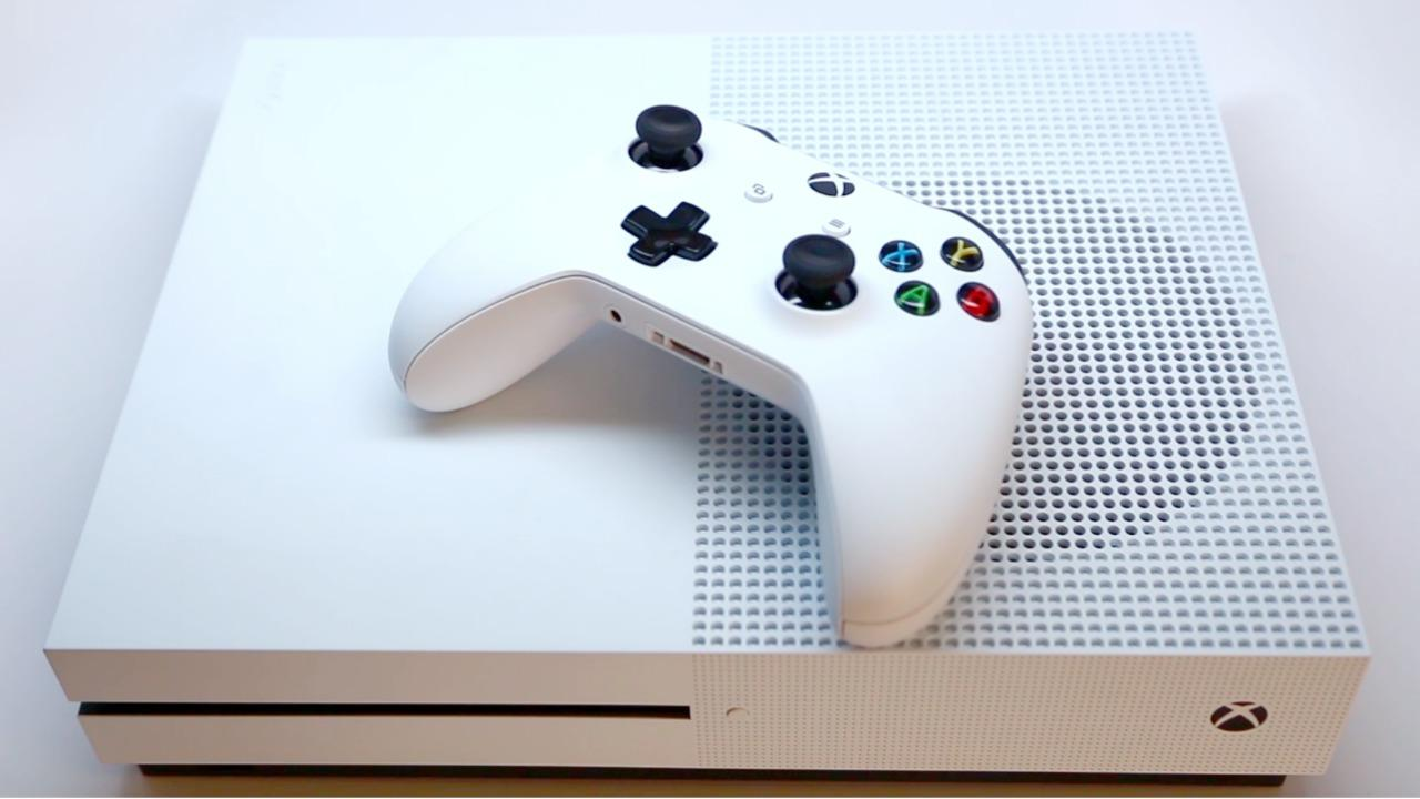 Xbox goes 4k with the new Xbox One S