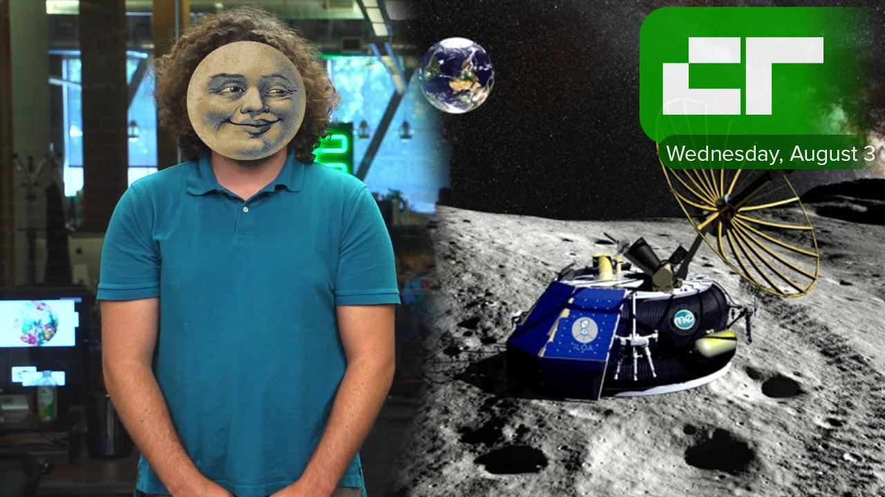 First private company to go to the Moon | Crunch Report