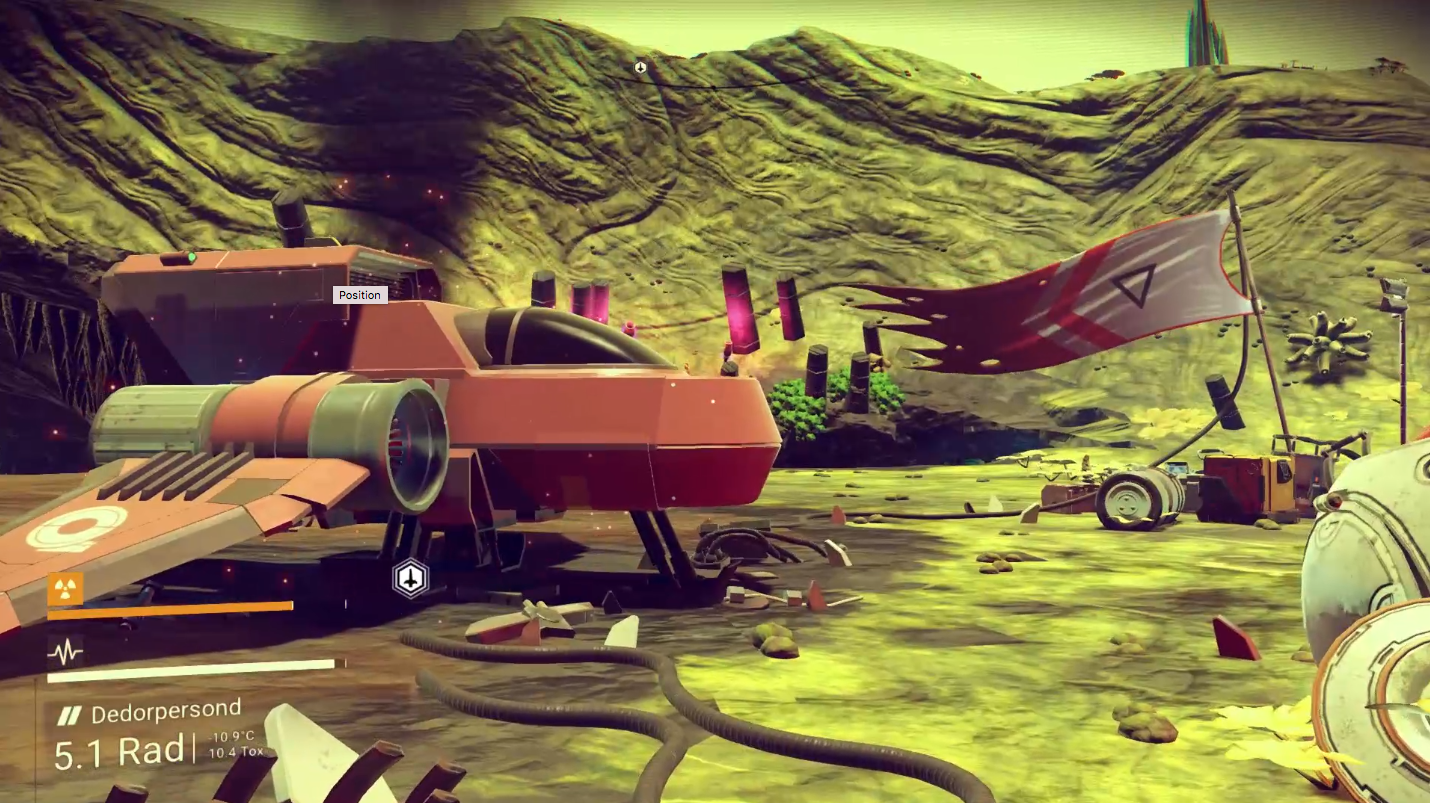 No Man's Sky: A space exploration game