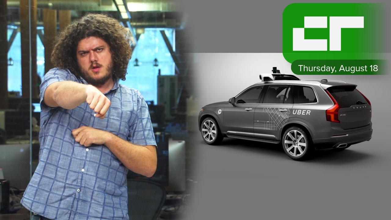 Uber's self-driving cars | Crunch Report