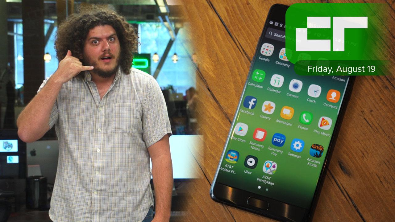 Samsung Drops Galaxy Note 7 | Crunch Report