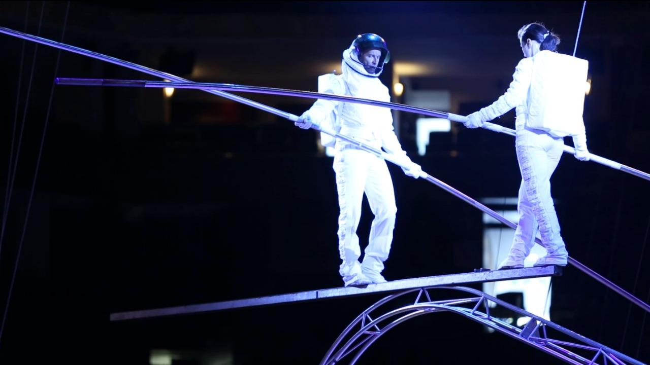 Behind Ringling Brothers' new space-themed show