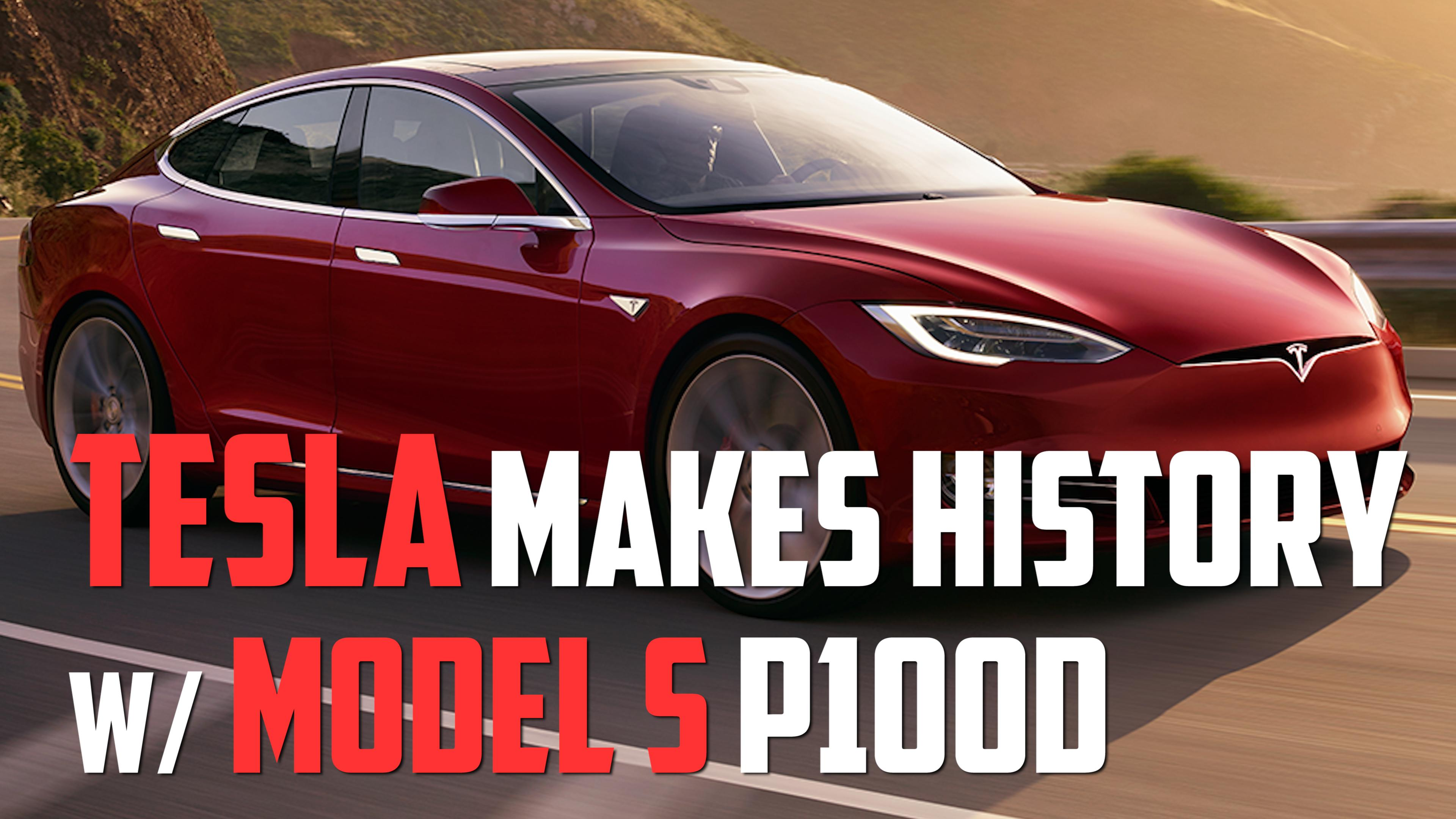 Tesla Model S 100d Goes 335 Miles Per Charge Autoblog