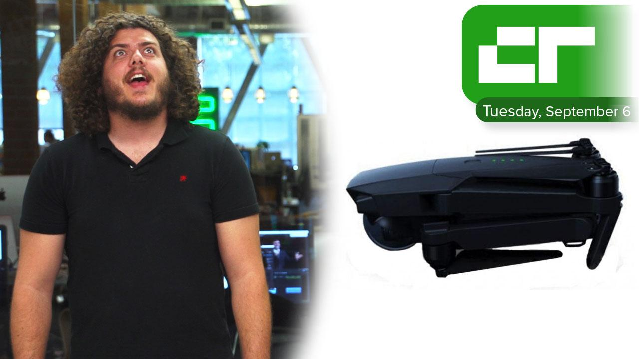 DJI Folding Drone Leaked Photo | Crunch Report