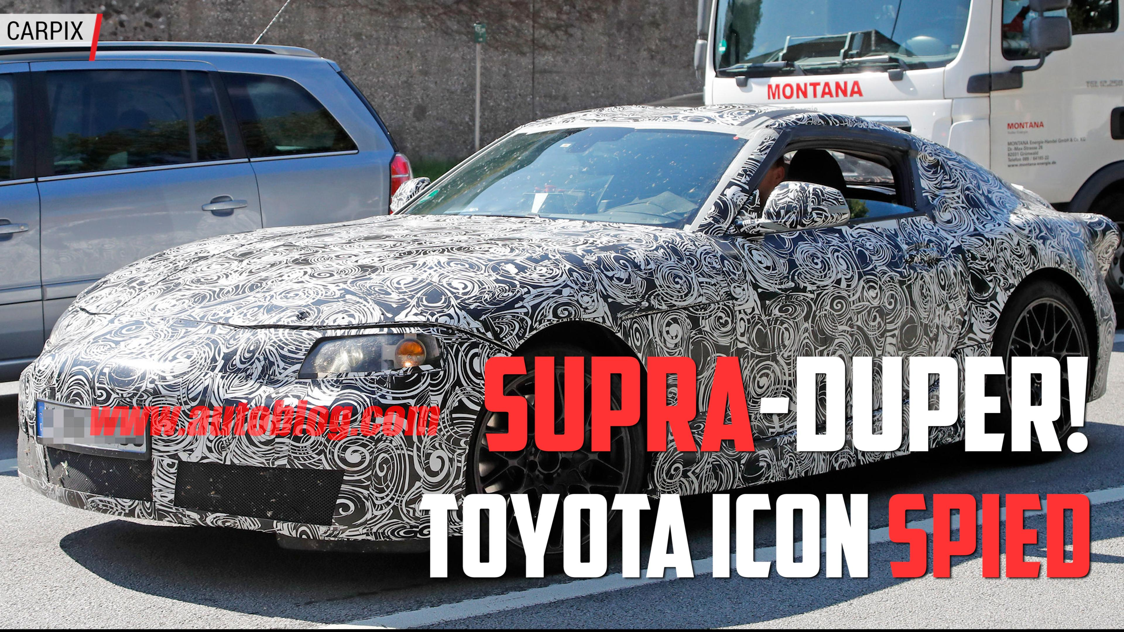 Here s the new Toyota Supra and its FT 1 inspired tail Autoblog