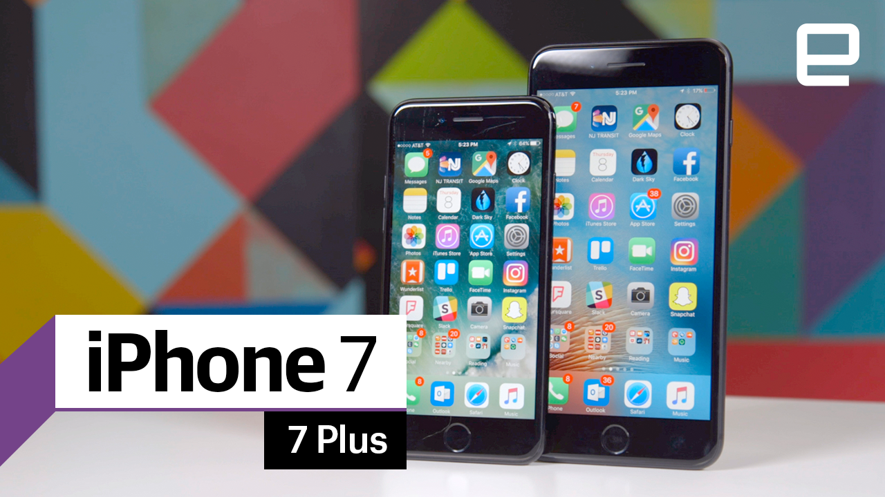 Iphone 7 And Plus Review Apple Mostly Plays It Safe 32gb Jet Black Grs International