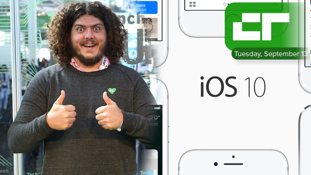 iOS 10 Available Today | Crunch Report