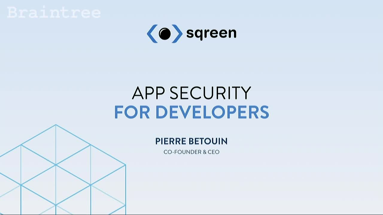 Build Security Into the Web with Sqreen
