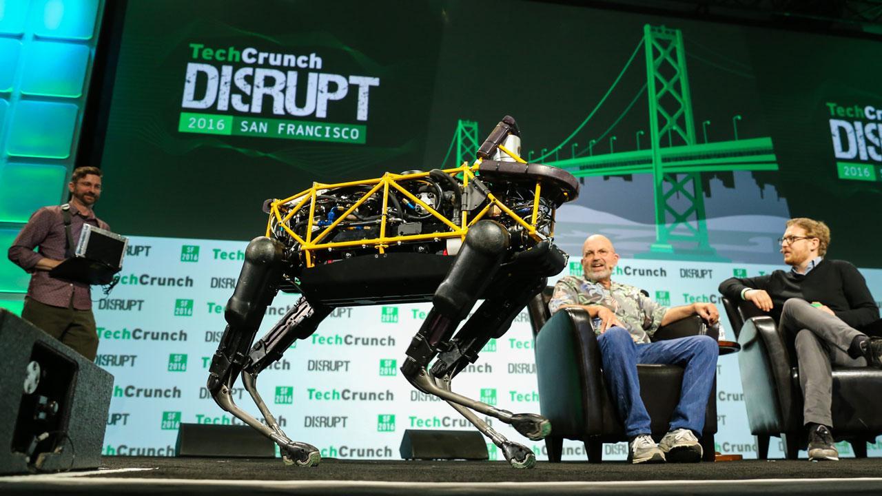 Marc Raibert of Boston Dynamics on Making Robots Friendlier