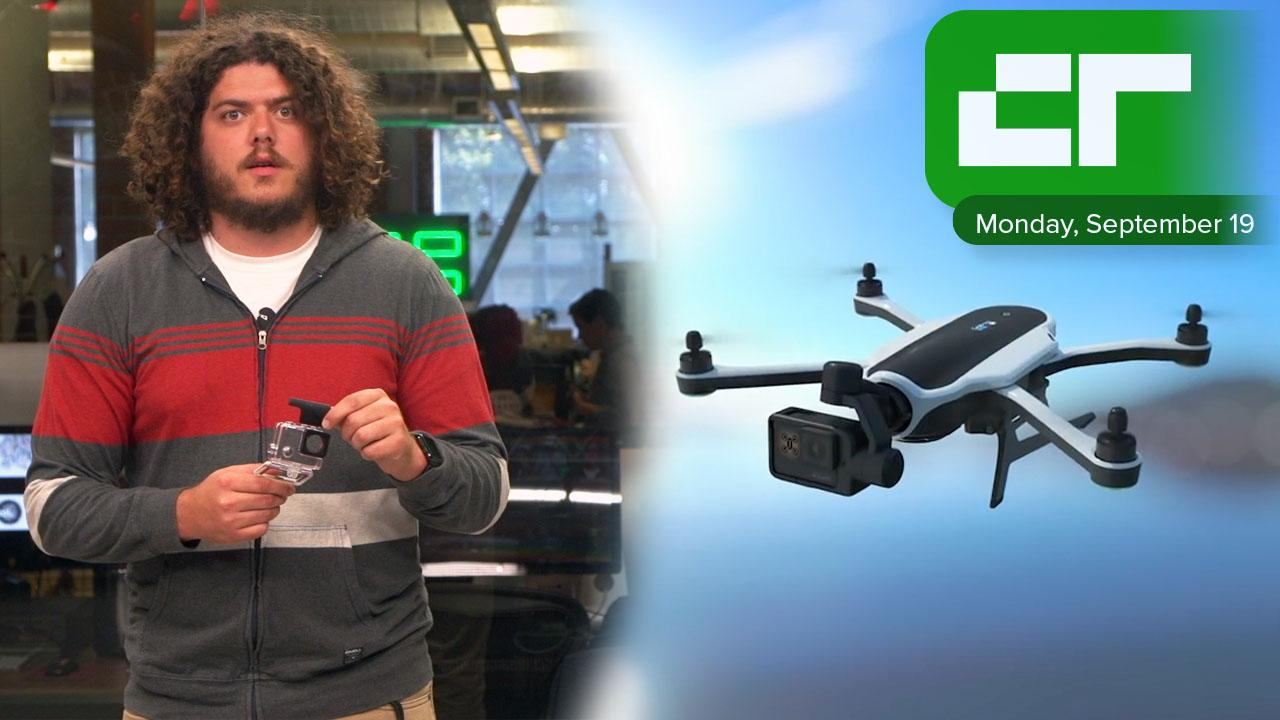GoPro Releases the new Karma Drone | Crunch Report