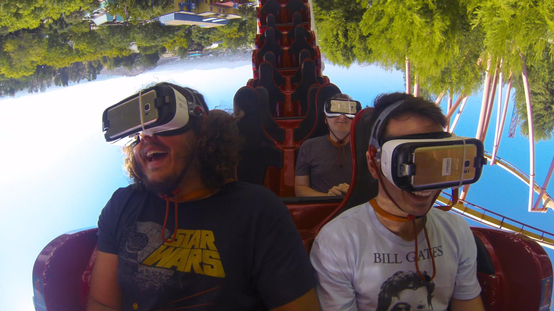 Virtual Reality and Rollercoasters like Peanut Butter and Jelly