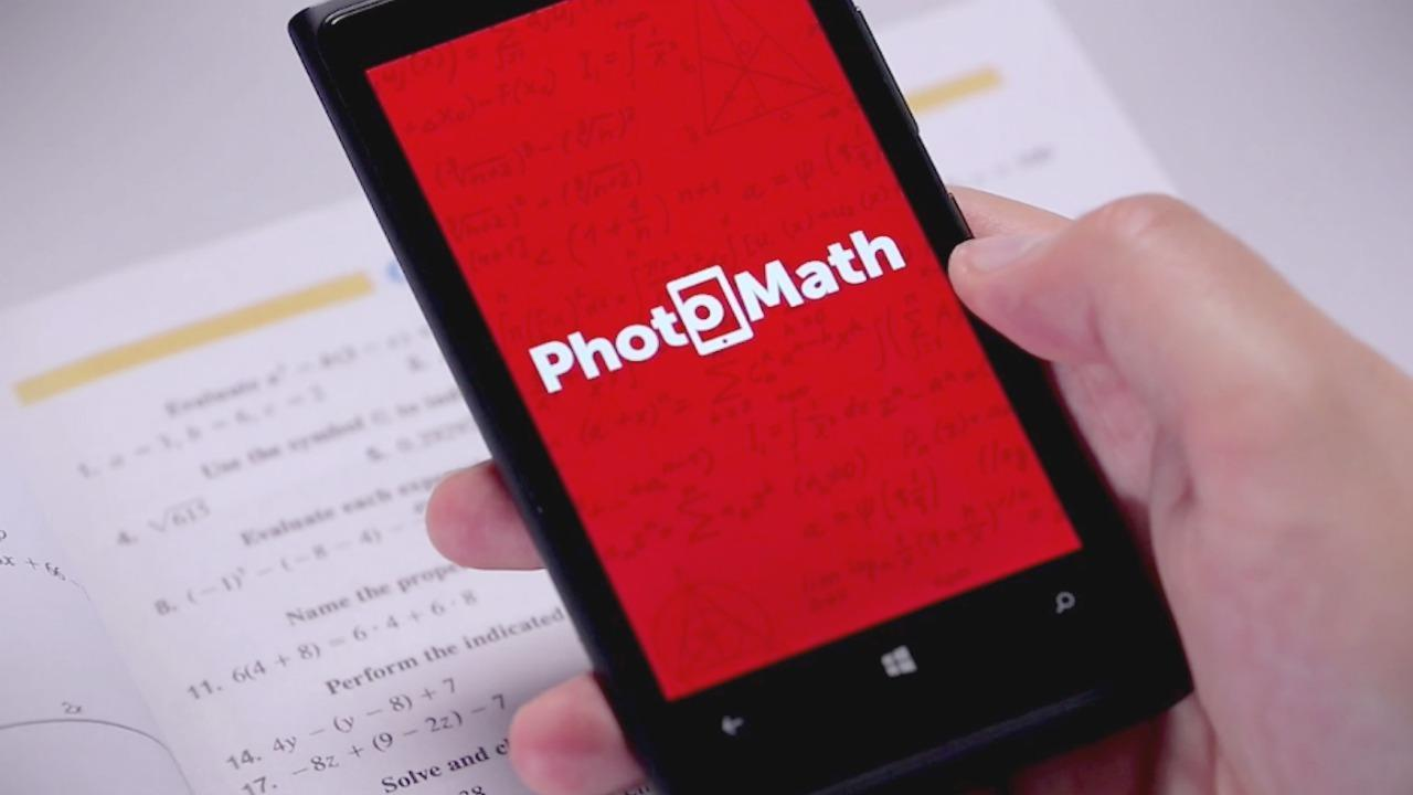 Photomath's app can now solve handwritten math problems