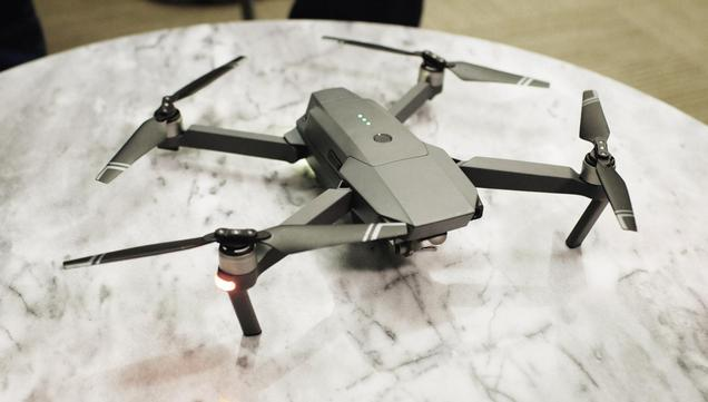 DJI launches the Mavic Pro