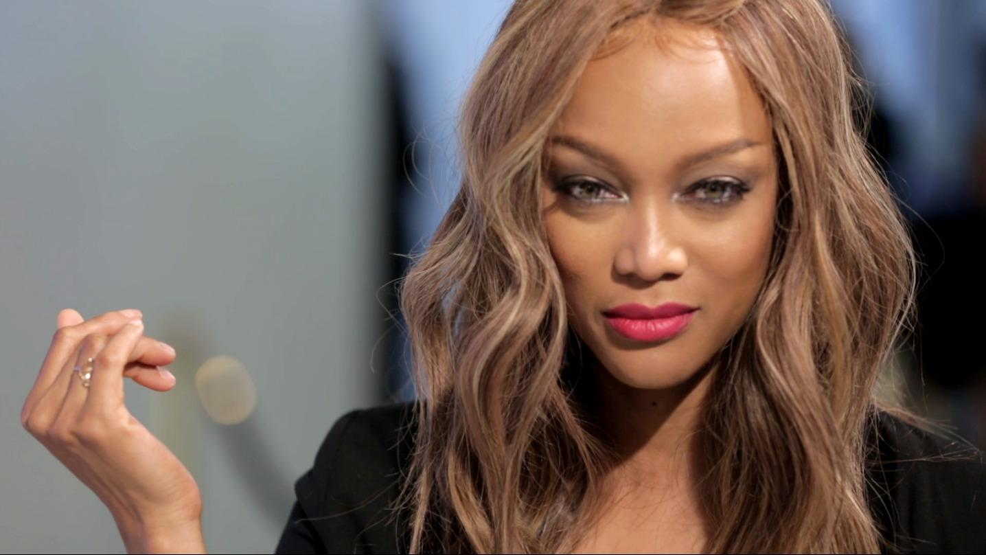 Tyra Banks on financing her own beauty business