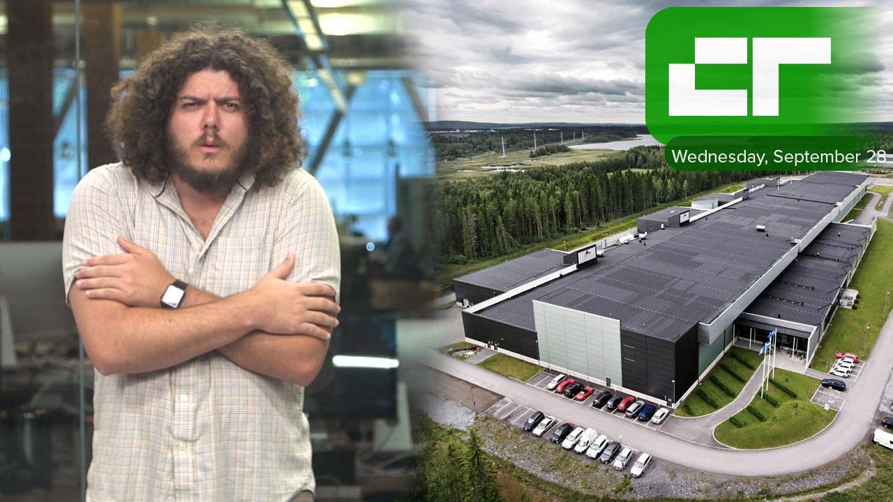 Facebook's futuristic frozen facility | Crunch Report