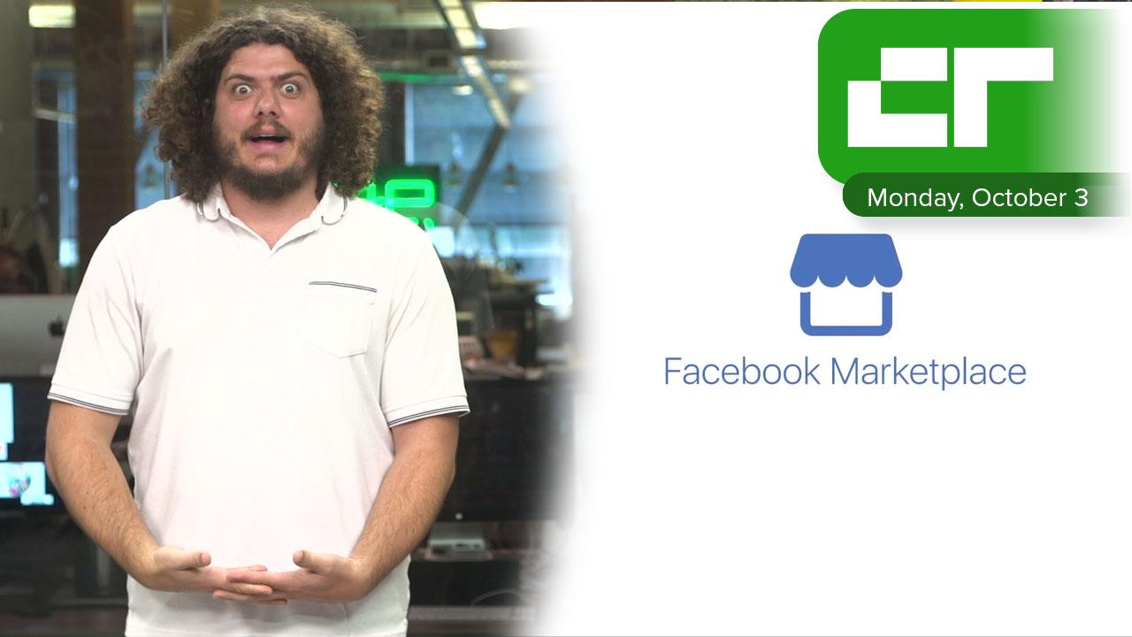 Facebook Launches Marketplace | Crunch Report
