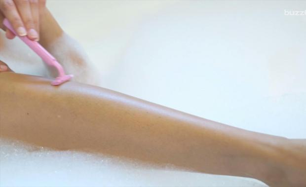 You've Been Shaving Your Legs At The Wrong Time