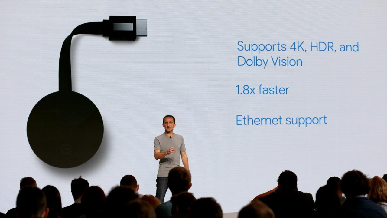 Chromecast Ultra now with 4K streaming
