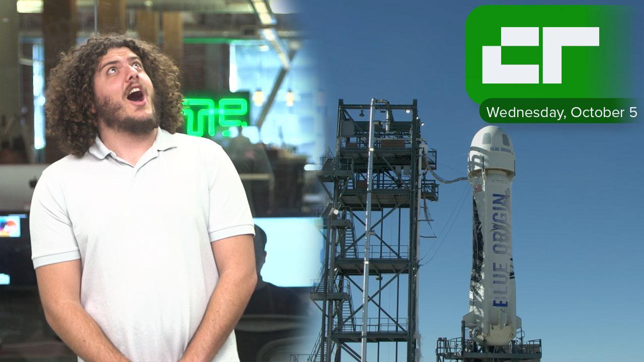 Blue Origin has another Successful Rocket Launch Test | Crunch Report