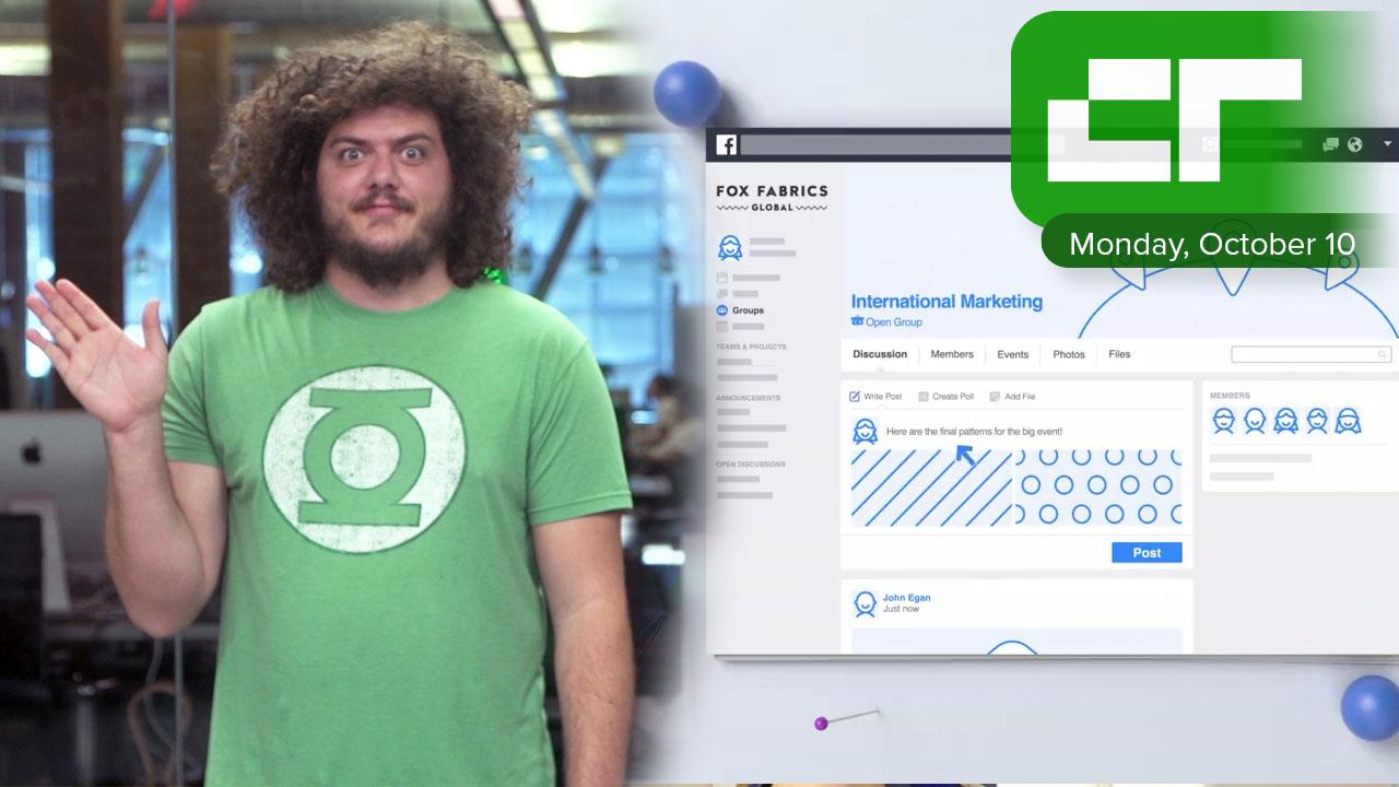Facebook Launches Workplace for All | Crunch Report