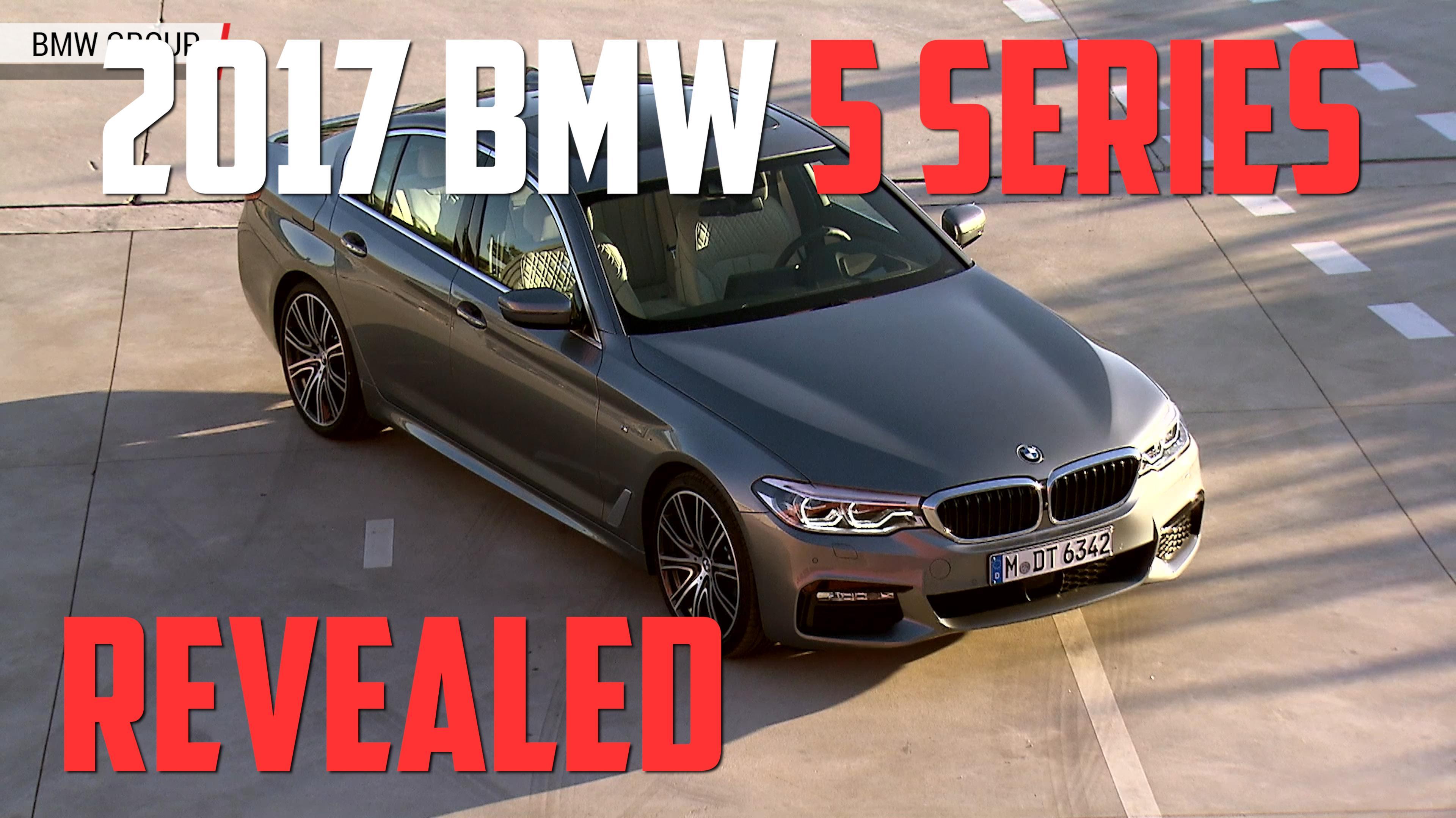 The All New 2017 BMW 5 Series Sedan Starts At 52195