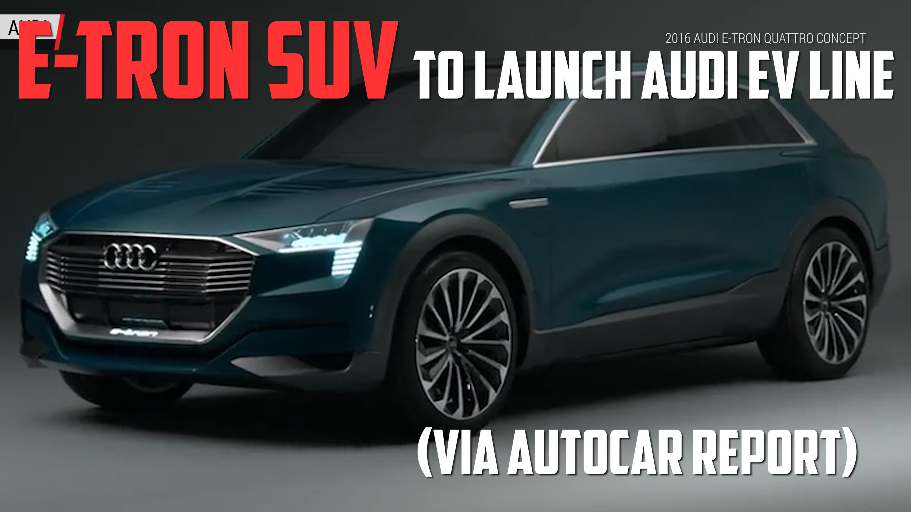 Audi E-Tron Sportback Concept previews 2019 production ...