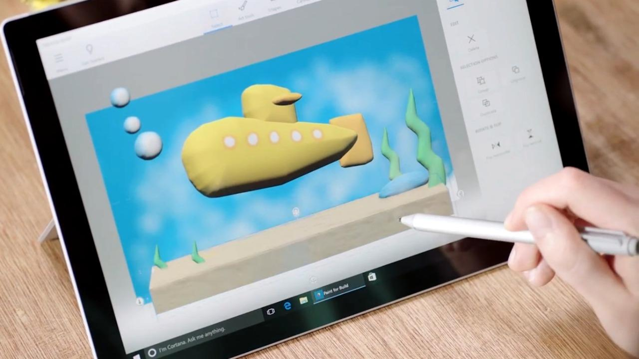 Microsoft's Paint 3D for the Windows 10 Creator's Update
