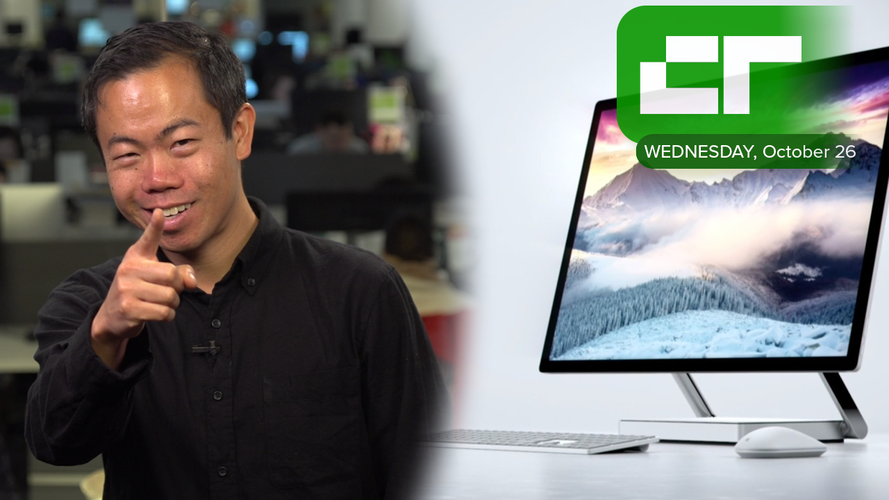 Microsoft Unveils The Surface Studio | Crunch Report