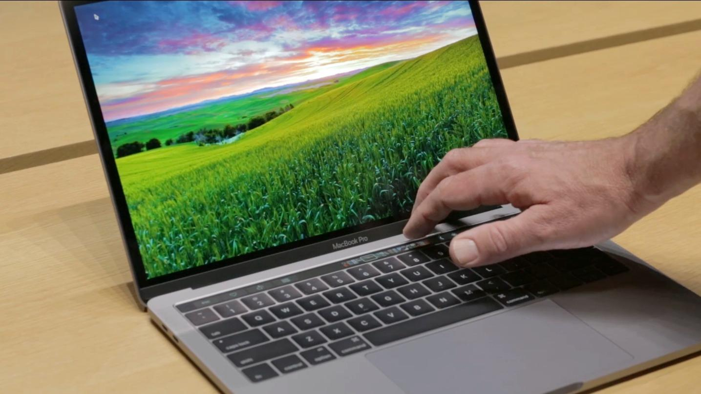 First look at the new MacBook Pro