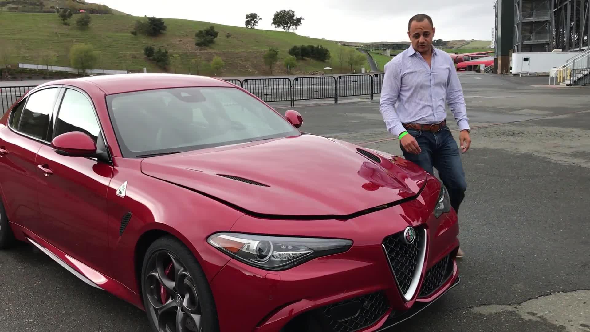 Alfa Romeo Giulia Quadrifoglio Nixes Manual in the US