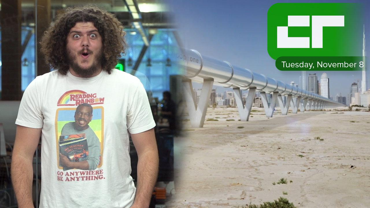 First Hyperloop Will Be Built in UAE | Crunch Report