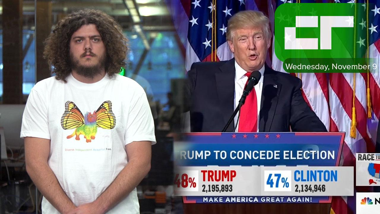 Donald Trump Is 45th President of U.S. | Crunch Report