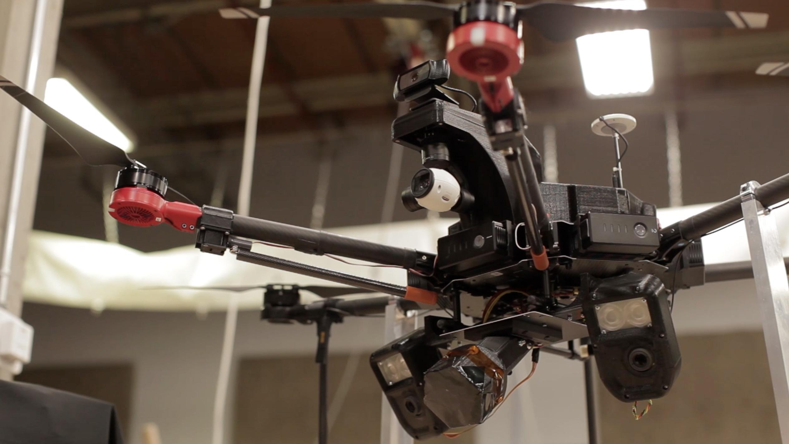 Airspace can catch high-speed drones all by itself