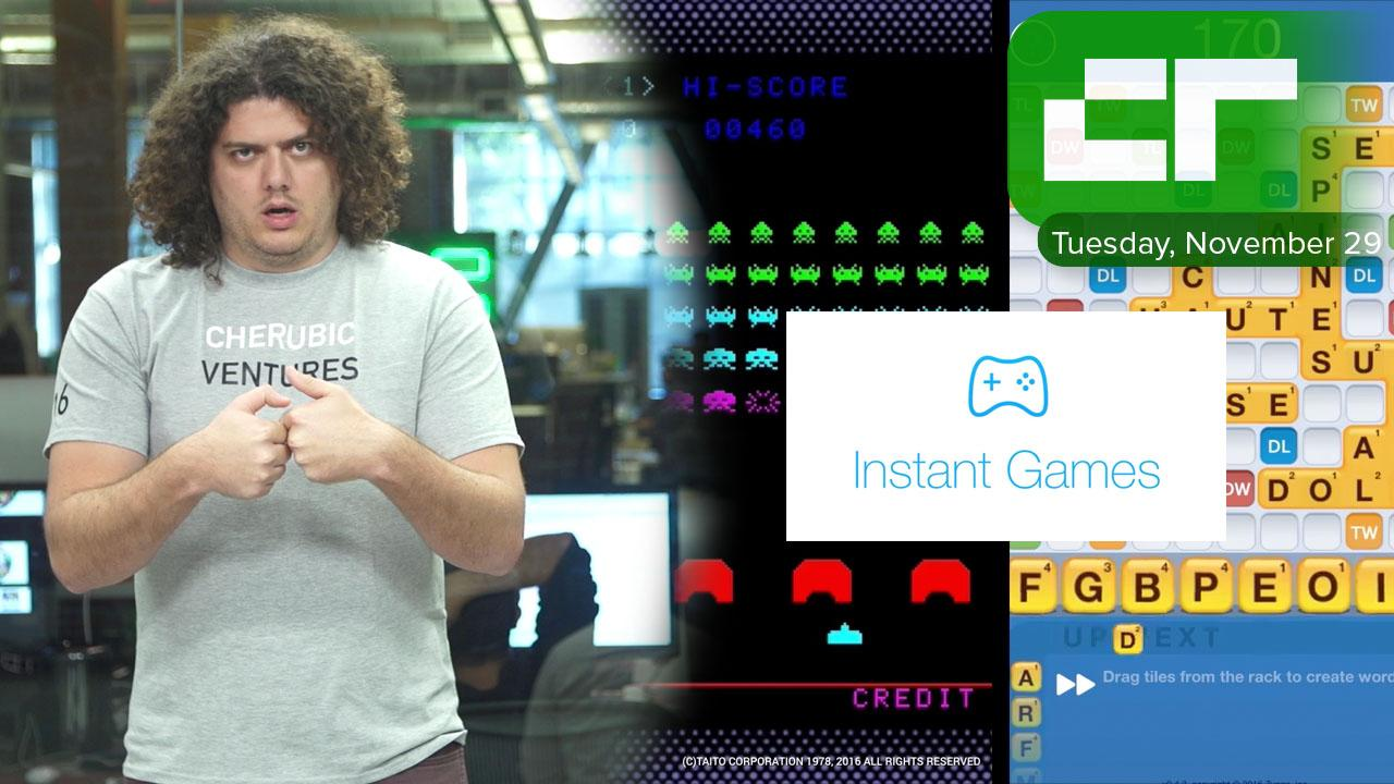 Facebook Messenger Instant Games   Crunch Report