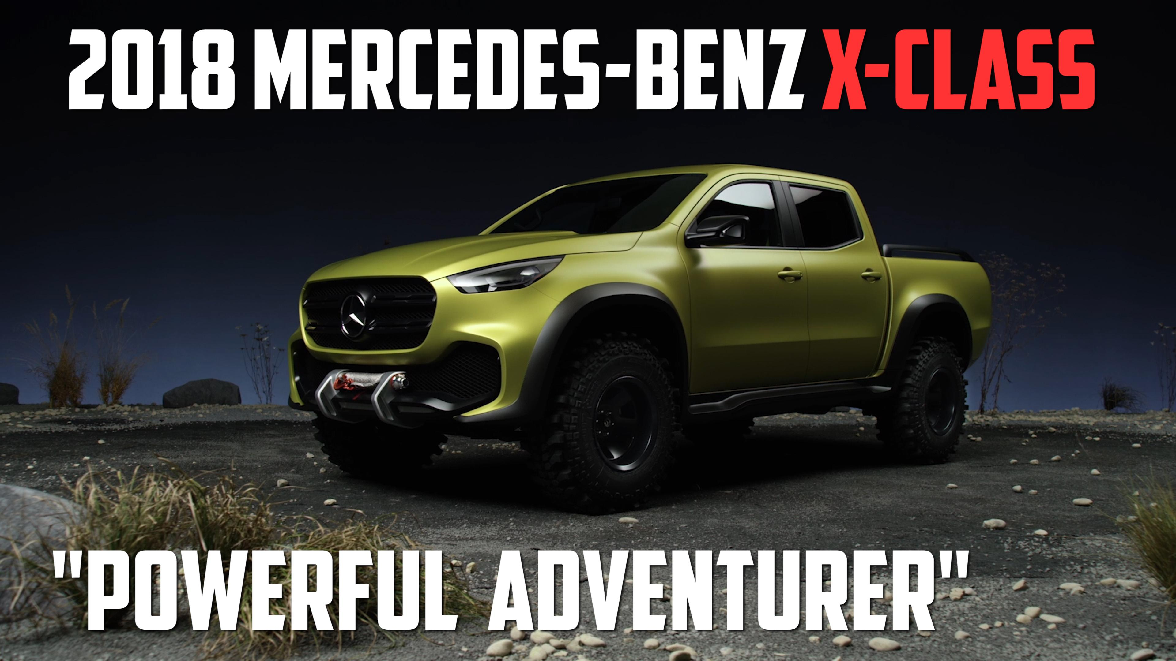 The Mercedes X Class Pickup Continues To Taunt Us Autoblog