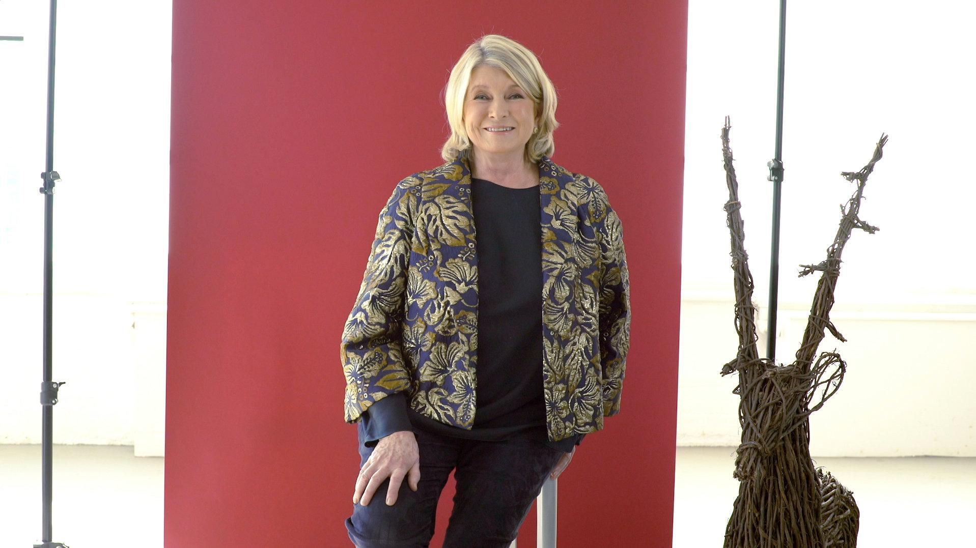 The New York Times: The Holidays with Martha Stewart