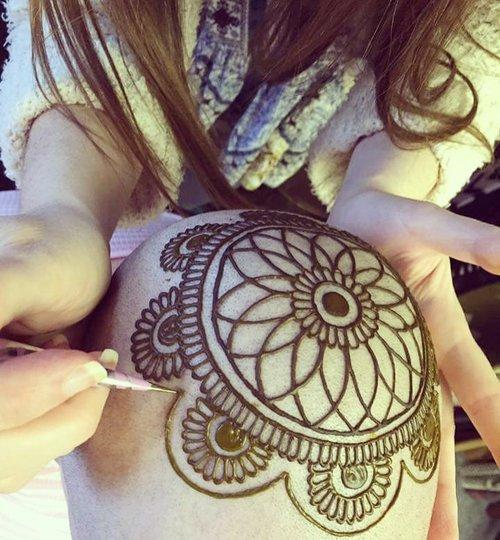 one seattle artist is using her intricate designs to help cancer patients feel beautiful again artist creates mobile homes
