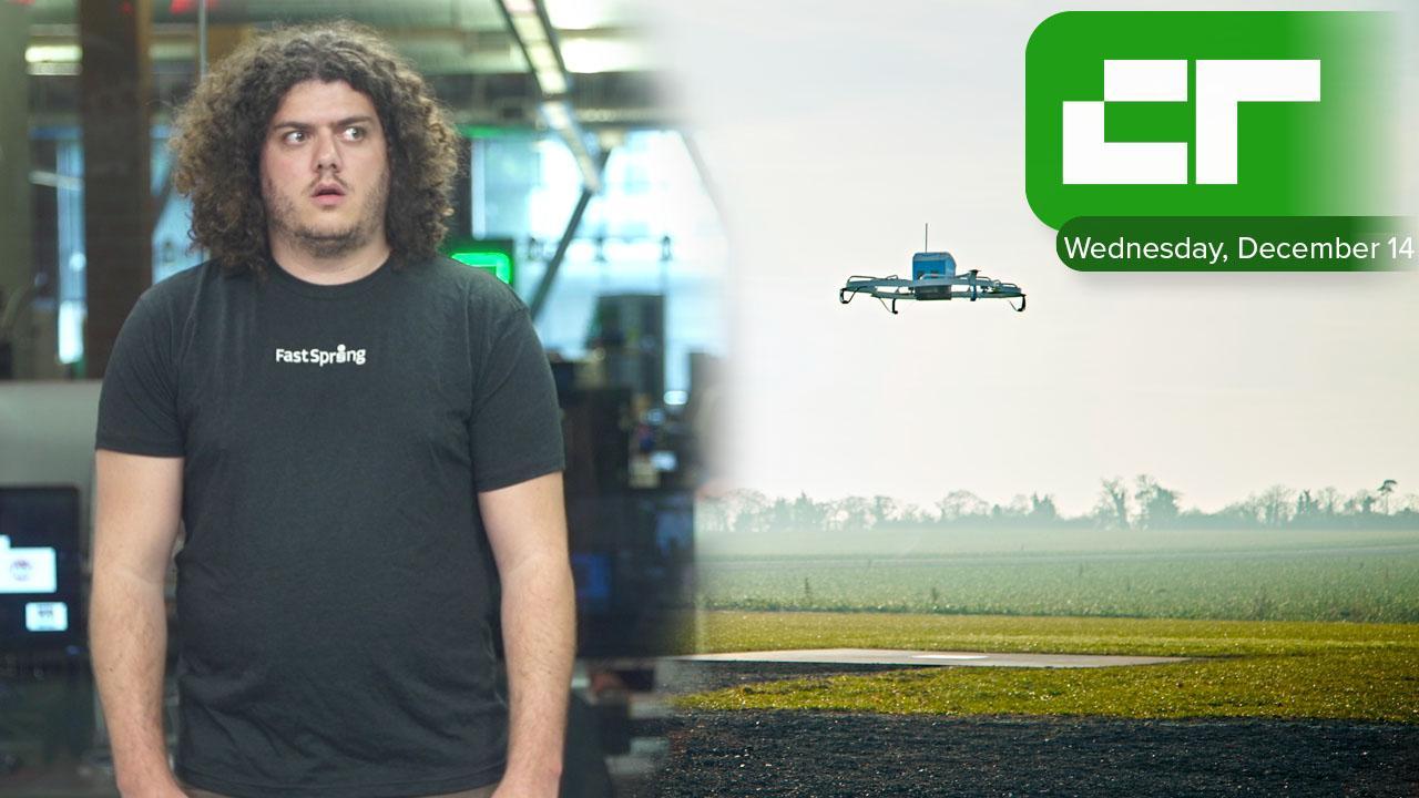 Amazon Drone Delivery Begins in U.K. | Crunch Report