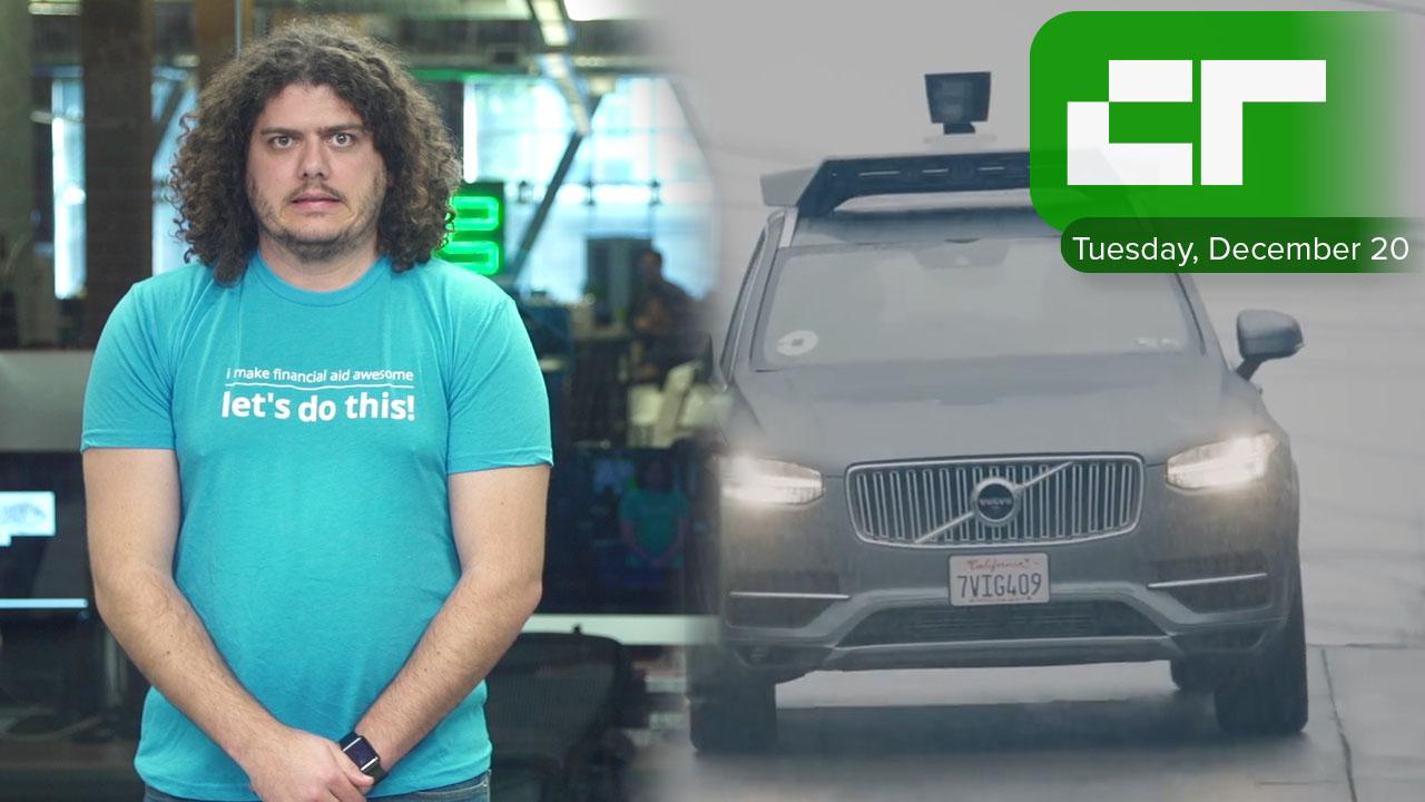 Cyclists Don't Like Uber's Self-Driving Cars | Crunch Report
