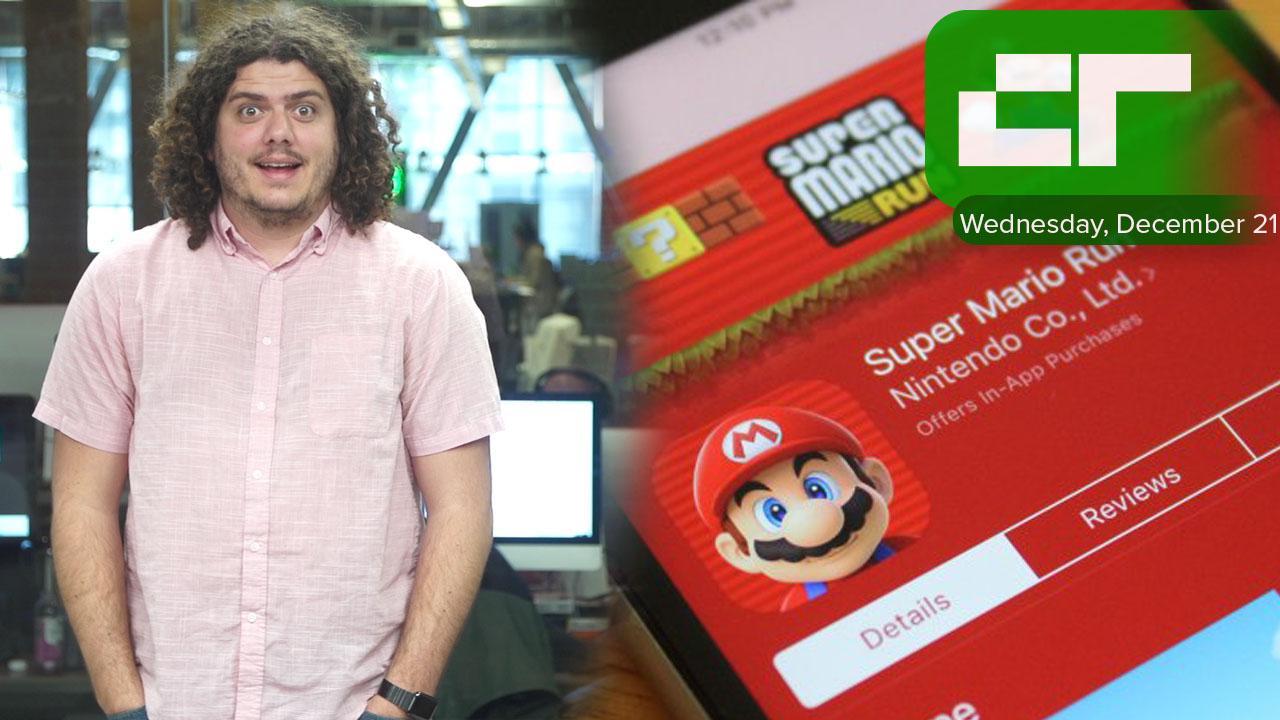 Mario Run Breaks App Store Record | Crunch Report