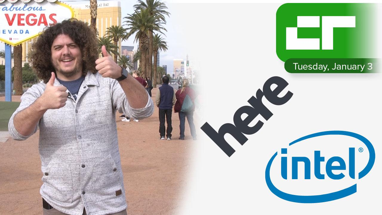 Intel Buys 15% of Here Mapping Business | Crunch Report